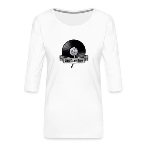Badge - Women's Premium 3/4-Sleeve T-Shirt