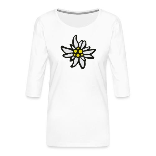 Edelweiss - Frauen Premium 3/4-Arm Shirt