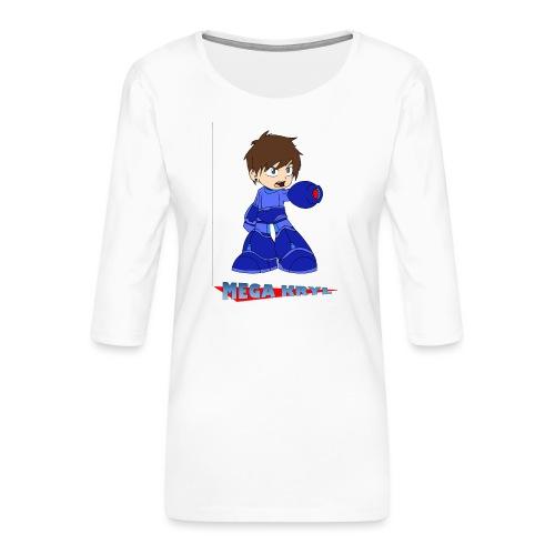 MegaKryl! - Women's Premium 3/4-Sleeve T-Shirt