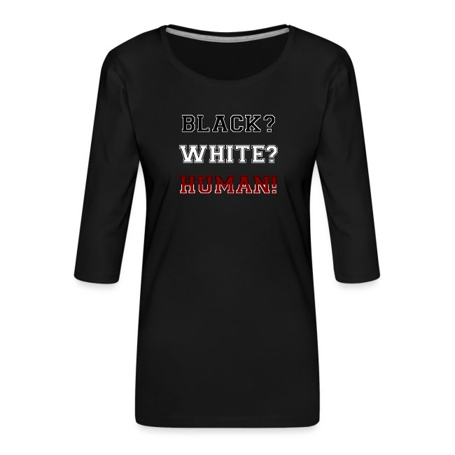 Anti Rassismus Schwarz Weiß Mensch