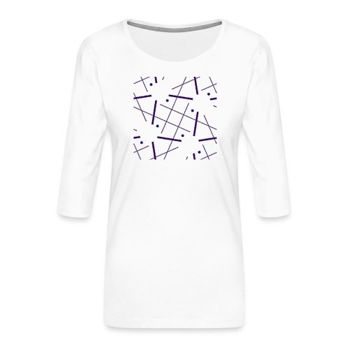 Ornament 059 - Frauen Premium 3/4-Arm Shirt