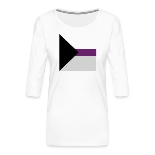 Demisexuell Flagge - Frauen Premium 3/4-Arm Shirt