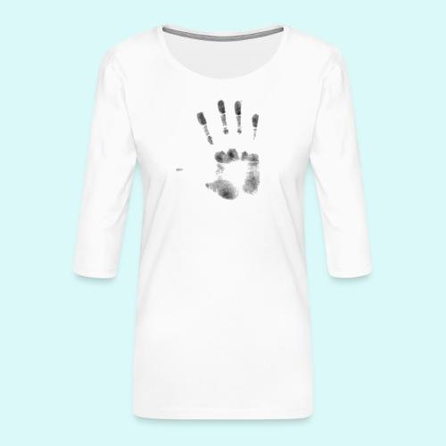 empreinte - T-shirt Premium manches 3/4 Femme