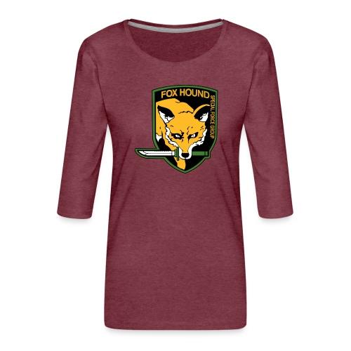 Fox Hound Special Forces - Naisten premium 3/4-hihainen paita