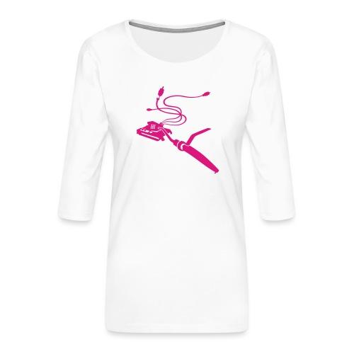 Vinyl-TankAssault - Frauen Premium 3/4-Arm Shirt