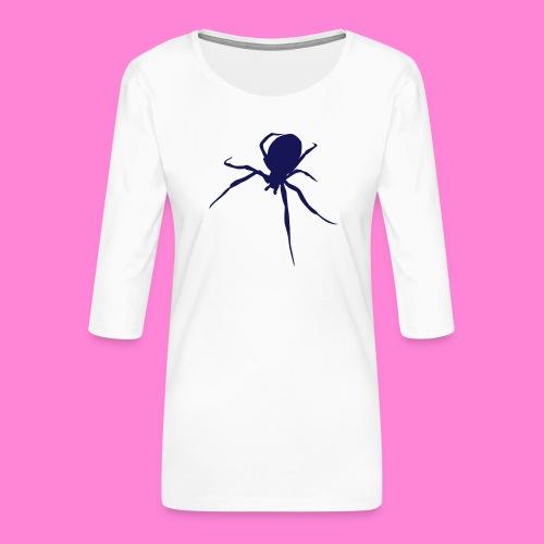 Spin Spider - Vrouwen premium shirt 3/4-mouw