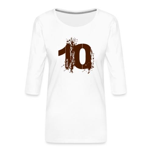 City 10 Berlin - Frauen Premium 3/4-Arm Shirt