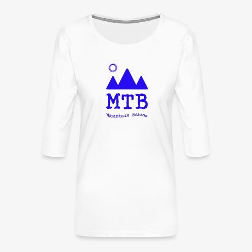mtb - Women's Premium 3/4-Sleeve T-Shirt