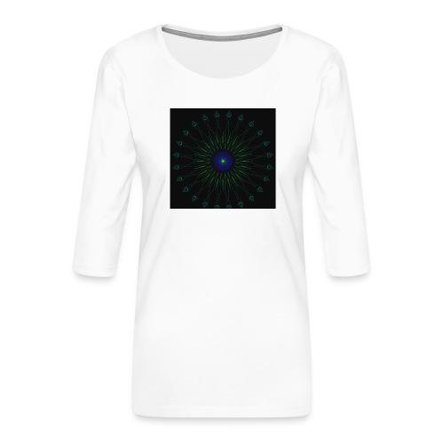 cool bild - Premium-T-shirt med 3/4-ärm dam