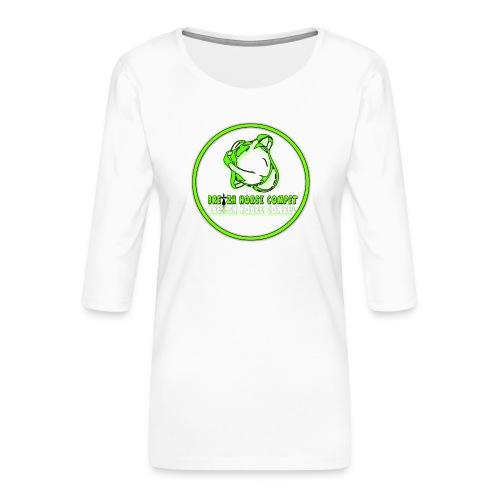 sans titre2 - T-shirt Premium manches 3/4 Femme