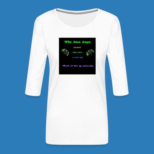 LUISJAKUBINTRO-jpg - Dame Premium shirt med 3/4-ærmer