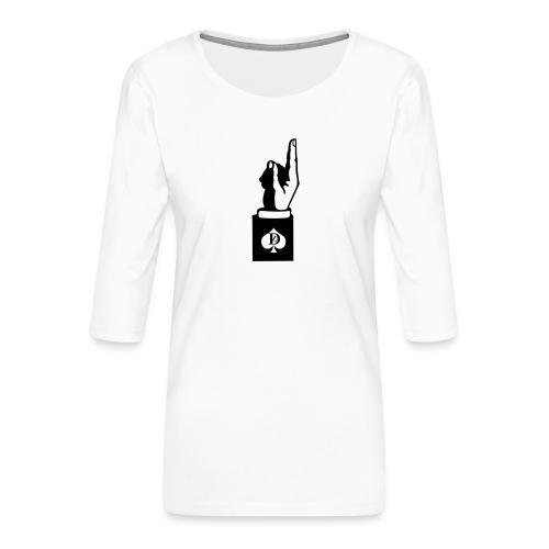 GALAXY S5 DEL LUOGO - Women's Premium 3/4-Sleeve T-Shirt