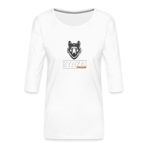 Casquette bynzai - T-shirt Premium manches 3/4 Femme