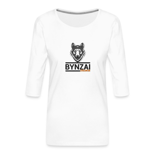 Mug Bynzai - T-shirt Premium manches 3/4 Femme
