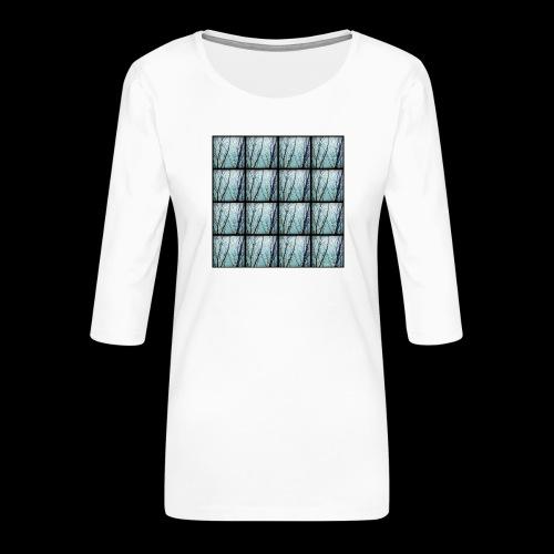 Kangaskassi - Naisten premium 3/4-hihainen paita