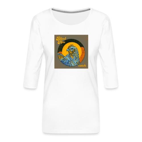 Blind Hen - Bum bag - Women's Premium 3/4-Sleeve T-Shirt