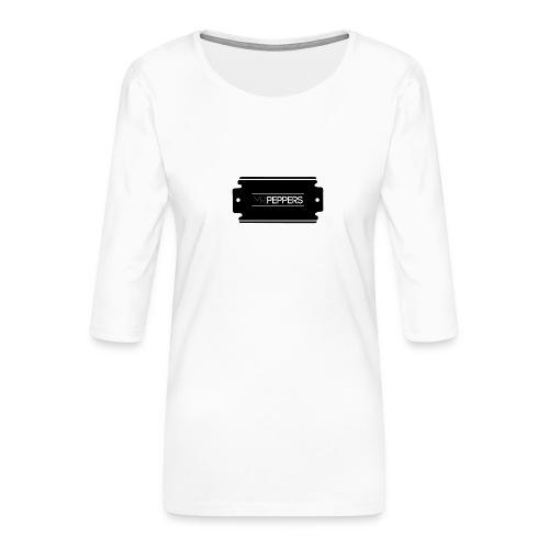 MR PEPPERS Logo classic - Frauen Premium 3/4-Arm Shirt