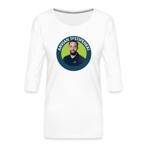 Tatun testipenkki! - Naisten premium 3/4-hihainen paita