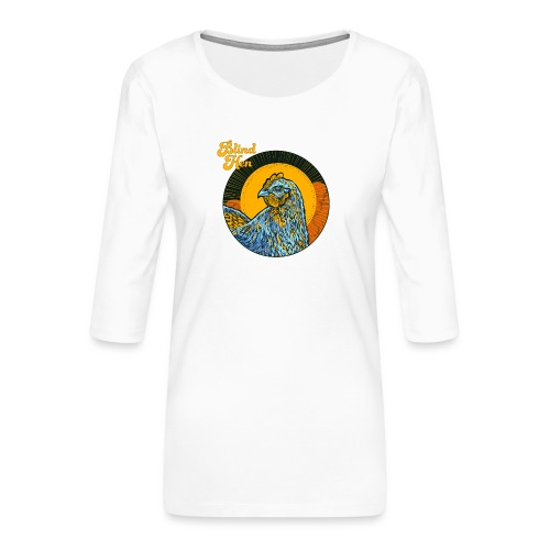 Catch - Lady fit - Women's Premium 3/4-Sleeve T-Shirt