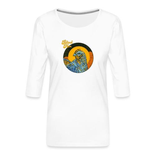 Catch - Zip Hoodie - Women's Premium 3/4-Sleeve T-Shirt