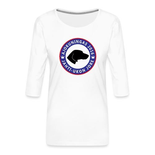 Ajokuningas t-paita - Naisten premium 3/4-hihainen paita