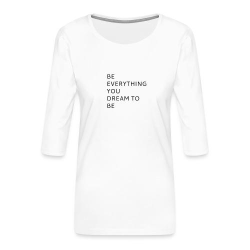 Dreamer - Naisten premium 3/4-hihainen paita