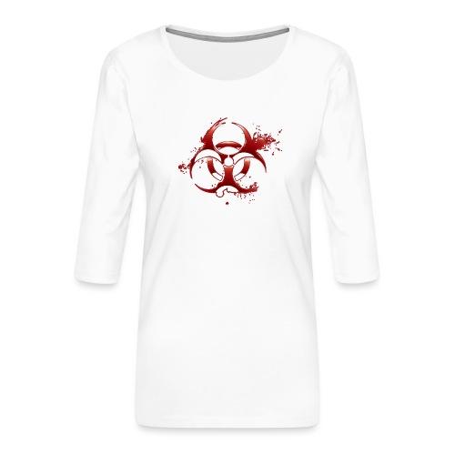 Nucléaire - T-shirt Premium manches 3/4 Femme