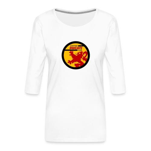 GIF logo - Women's Premium 3/4-Sleeve T-Shirt