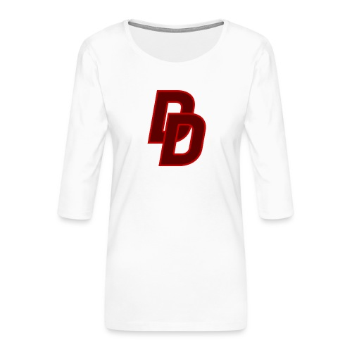 Daredevil Logo - Women's Premium 3/4-Sleeve T-Shirt
