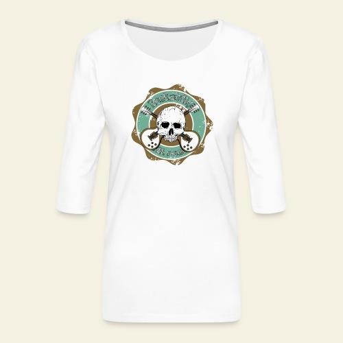 Rockabilly Still Rockin - Dame Premium shirt med 3/4-ærmer