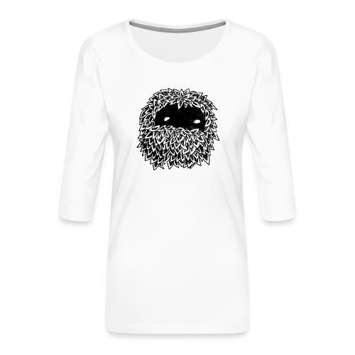 Leaves Bounoz by www.mata7ik.com - T-shirt Premium manches 3/4 Femme