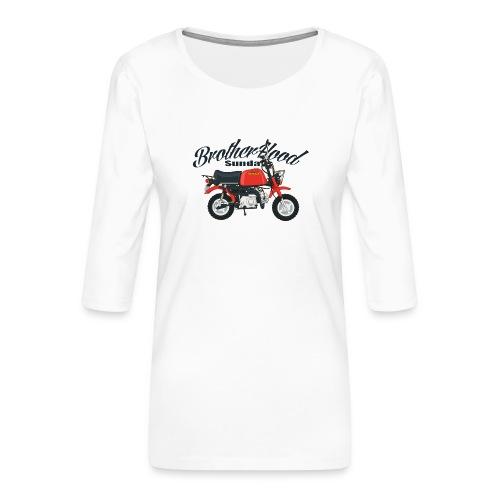 gorilla - T-shirt Premium manches 3/4 Femme