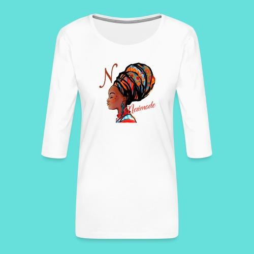 Image de mode - T-shirt Premium manches 3/4 Femme