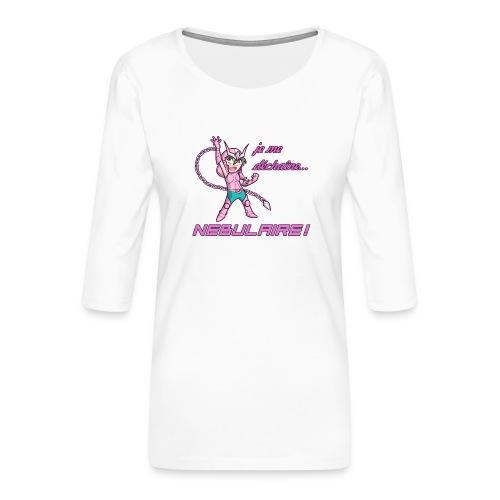 Shun - Déchaîne Nébulaire - T-shirt Premium manches 3/4 Femme
