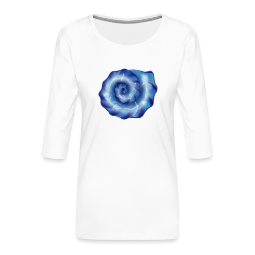 Galaktische Spiralenmuschel! - Frauen Premium 3/4-Arm Shirt