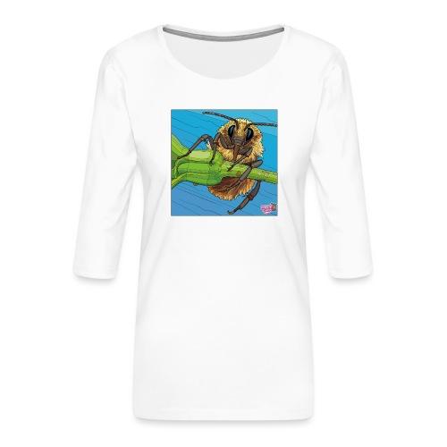 Bi - Dame Premium shirt med 3/4-ærmer