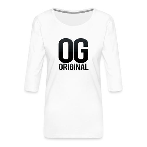 OG as original - Women's Premium 3/4-Sleeve T-Shirt