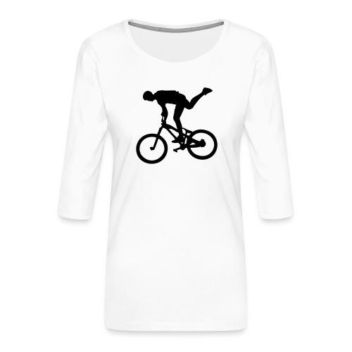 One Foot - T-shirt Premium manches 3/4 Femme