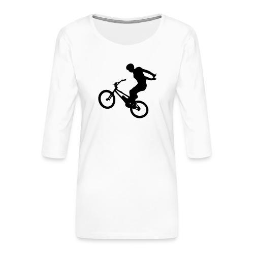 No Hand - T-shirt Premium manches 3/4 Femme