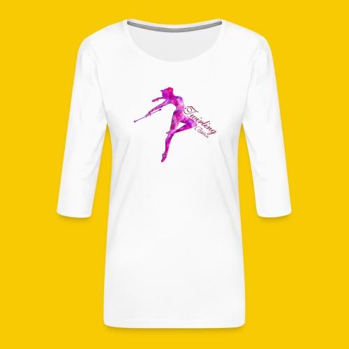 TWIRLING-BATON - T-shirt Premium manches 3/4 Femme