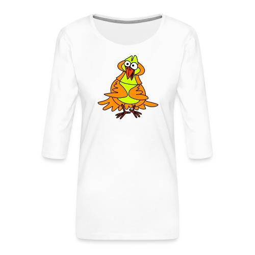 Vogel Nr 3 von dodocomics - Frauen Premium 3/4-Arm Shirt