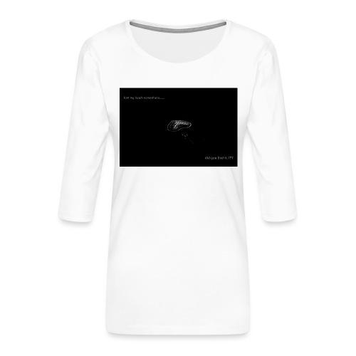 Lost Ma Heart - Women's Premium 3/4-Sleeve T-Shirt