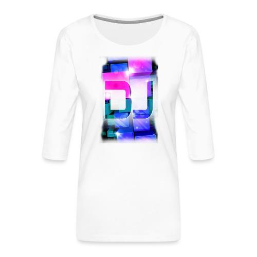 DJ by Florian VIRIOT - T-shirt Premium manches 3/4 Femme