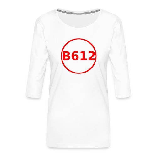 b612 png - Maglietta da donna premium con manica a 3/4