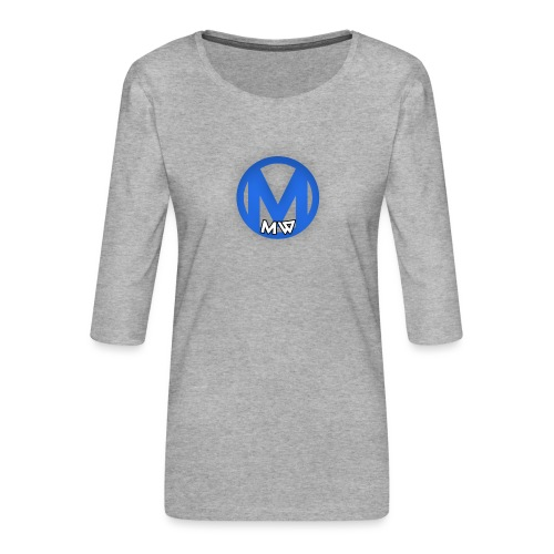 MWVIDEOS KLEDING - Vrouwen premium shirt 3/4-mouw