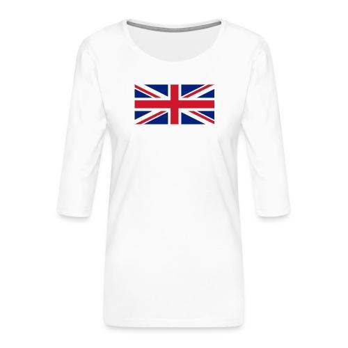 United Kingdom - Women's Premium 3/4-Sleeve T-Shirt