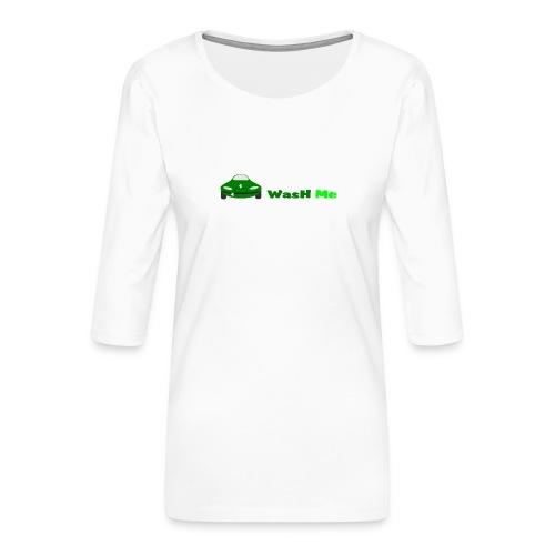 wash me - Women's Premium 3/4-Sleeve T-Shirt