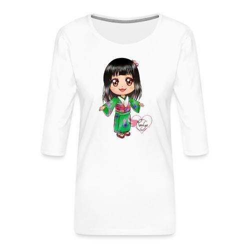 Rosalys crossing - T-shirt Premium manches 3/4 Femme