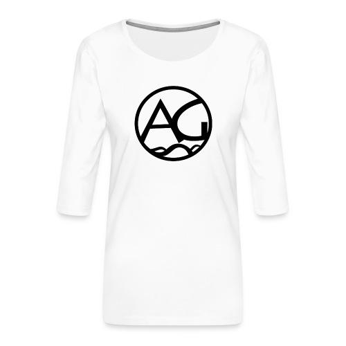 AG - Naisten premium 3/4-hihainen paita