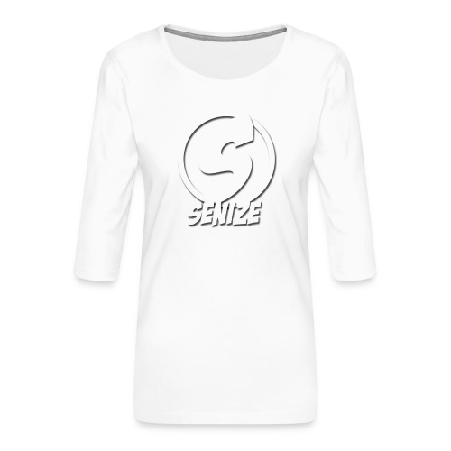 Senize voor vrouwen - Vrouwen premium shirt 3/4-mouw